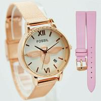 Jam tangan wanita, Fossil pasir (free tali cadangan) kw super