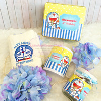 HAMPER / SOUVENIR MUG, TOWEL, & JAR