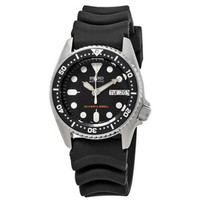 Seiko 5 Divers SKX013K1 / Automatic SKX013 Rubber Original & Bergarans