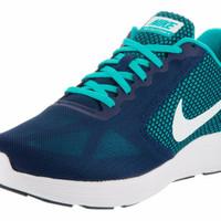 Sepatu Running Nike Revolution 3 Navy Tosca