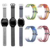 Nylon Strap Band 20mm for SAMSUNG GEAR SPORT GEAR S2 CLASSIC FOSSIL