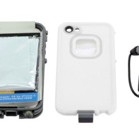 Redpepper Lifeproof Iphone 5/5s (ID Touch) - White Harga Terbaik