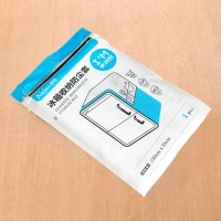 324 Taplak Penutup Kulkas Waterproof Cover dgn Kantong Storage Pouch