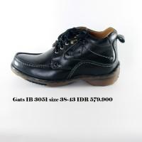 gats IB 3051 sepatu boot pria hitam