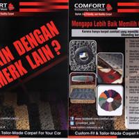 Karpet Mobil Comfort Deluxe Khusus Kijang LGX Full Bagasi