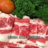 Harga daging sapi short plate us sliced beef yoshinoya beef pack | antitipu.com