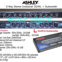 Crossover Ashley 324 XL + Subwoofer