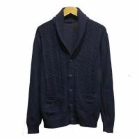 JUAL CARDIGAN JAKET GU By Uniqlo Mens Knitted Shawl Cardigan Original