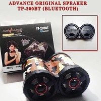 Sale! Speaker Teropong Bluetooth Advance Tp-200 Speaker Tabung Hot