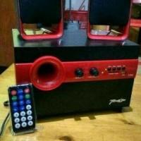 Jual Speaker Aktif Bluetooth Gmc Teckyo 778C Super Woofer 2.1 Sd Card