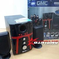 Dijual Speaker Active Bluetooth Multimedia Gmc 888D3 Bt Unik