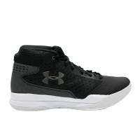 UA JET MID 3020224-001 FOOTWEAR - BLACK GREY