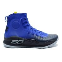 UA CURRY 4 FOOTWEAR - BLUE 1298306-401