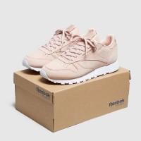 sepatu Reebok original Classic Leather Rose Women's pink CN1504