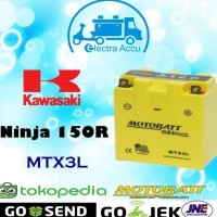 Sale! Aki Motor Kawasaki Ninja 150 R Motobatt Mtx3L Aki Kering Unik