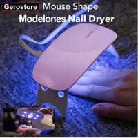 Portable Nail Dryer Pengering Kuku Lampu UV Nail Lamp UV LED
