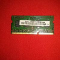 Ram 1gb ddr3 10600s merk samsung laptop acer 4738z 4738 z