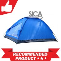 Double Layer Door Camping Tent / Tenda Camping