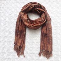 syal batik motif balian