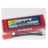 BATTERY LIPO ZIPPY 4000mAh 2S 7.4v 25C Lipo Drift
