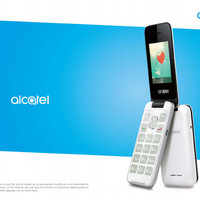 HP ALCATEL FLIP NEW GARANSI RESMI