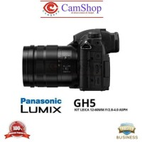 PANASONIC LUMIX DC-GH5 KIT LEICA 12-60MM F 2.8-4.0 ASPH - LUMIX DC-GH5