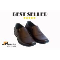 Kode 2016 Coklat Sepatu Kulit PDH Untuk Kerja Kantor Ba Limited