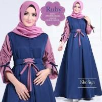 Grosir fashion online / baju muslim wanita / gamis maxy / trend baju