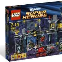 LEGO 6860: The Batcave - Batman- SuperHeroes