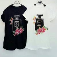 8ee82c75 Kaos baju atasan tshirt tumblr tee wanita cewe coco parfum / 034
