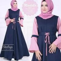 promo Baju dress ibu hamil dress menyusui murah cantik muslimah Marbe