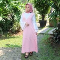promo Baju Rolly Maxi Long Dress Wanita Lengan Panjang Import Bangkok