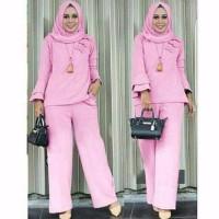 promo Baju Muslim Atasan Wanita Setelan Levita Kulot Muslim pria