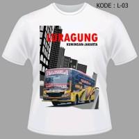 Kaos Bus Luragung Baju Bis Luragung Jaya Tshirt Bismani Limited