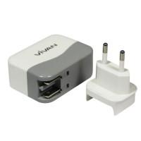 Adaptor charger Vivan XC4S 4 USB Ports Charger White ORIGINAL