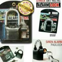 Harga Gembok Alarm Travelbon.com