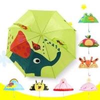 Payung Anak Model Kartun - Cinderella Berkualitas