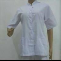 Baju perawat uk XXL WANITA LENGAN PENDEK (bh) / seragam perawat