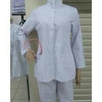 Baju perawat uk XXL WANITA LENGA PANJANG (bh) / seragam perawat