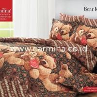 Sprei Batik Carmina - Bear Kawung 120x200