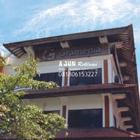 Billboard Huruf Timbul Galvanil - Gramedia Duta Mall Bali