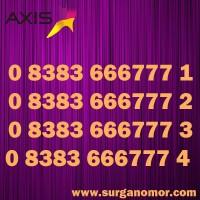 Kartu Perdana Nomor AXIS cantik 7771 7772 7773 7774 777