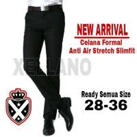 Xellano Celana Formal Panjang - Slimfit - High Twist Anti Air Stretch