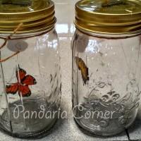 Toples Kupu-Kupu Elektronik / Butterfly Jar