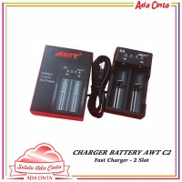 AWT C2 2A USB Battery Charger [Authentic]