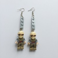 Anting Star Wars Rey Lego Abu