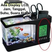 Nano USB Mini Aquarium Akuarium Dekstop Meja