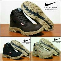 Sepatu Boot Safety Nike California Coklat