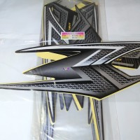 Stiker Bodi & Lis Body & Striping Rxking New 2004 Hitam