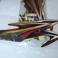 Stiker Bodi & Lis Body & Striping Rxking New 2005 Hitam